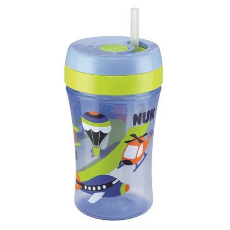 Copo-com-Canudo-NUK-Fun-300ml-18meses-Azul