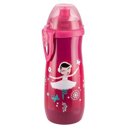 Copo-Antivazamento-Sport-Cup-Nuk-450ml-Bailarina-Pink