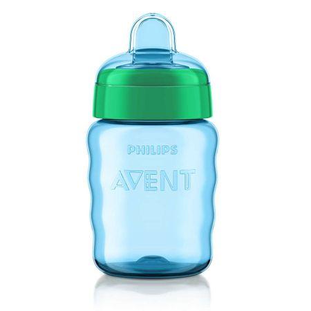 Copo-Avent-Easy-Sip-com-Bico-de-Silicone-Azul-260ml