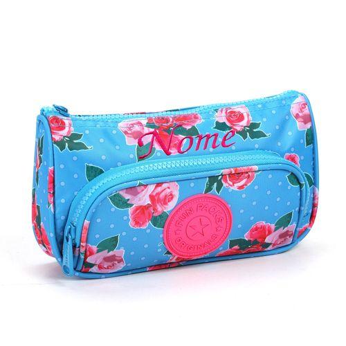 Estojo-Escolar-Floral-Turquesa-e-Rosa-Seanite