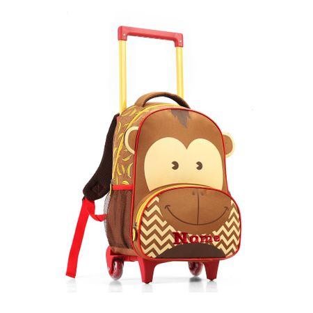 Mochila-Infantil-com-Rodas-Macaco-Seanite