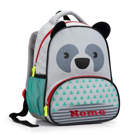 Mochila-Infantil-Panda-Cinza-Seanite