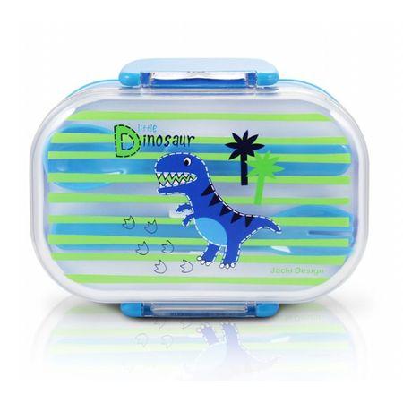 Pote-para-Lanche-Infantil-Pequeno-Dinossauro-Azul-Jacki-Design
