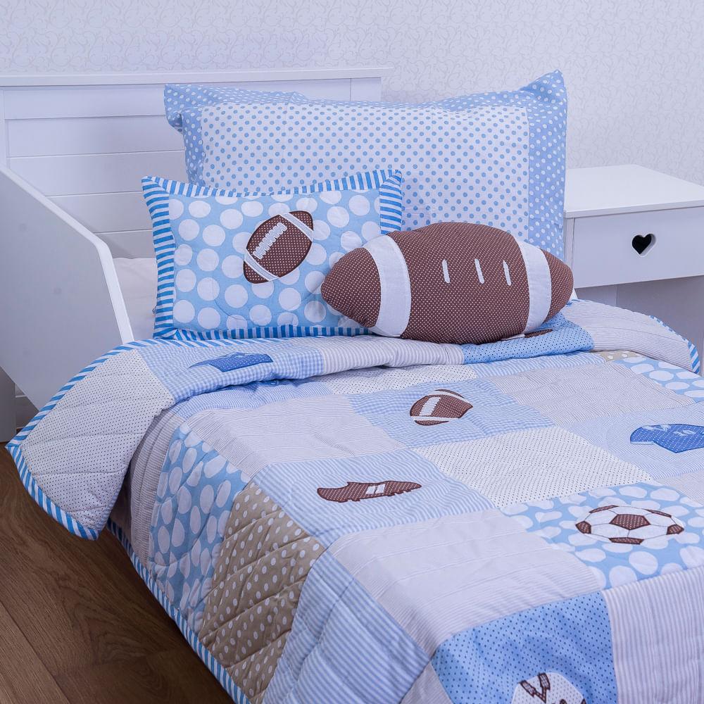 cc4147e1b1 Flicka Kids · Enxoval e Pijamas · Edredom. 308-COLCHA-BOLA-COM-ALMOFADAS ...