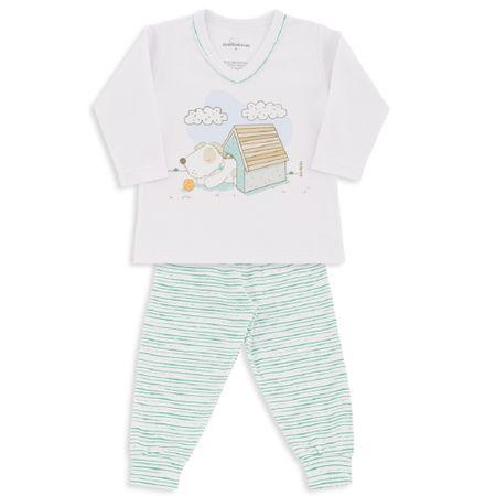 Pijama-Malha-Suedine-Cachorrinho