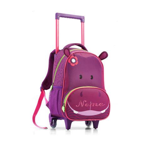 Mochila-Infantil-com-Rodas-Hipopotamo-Seanite
