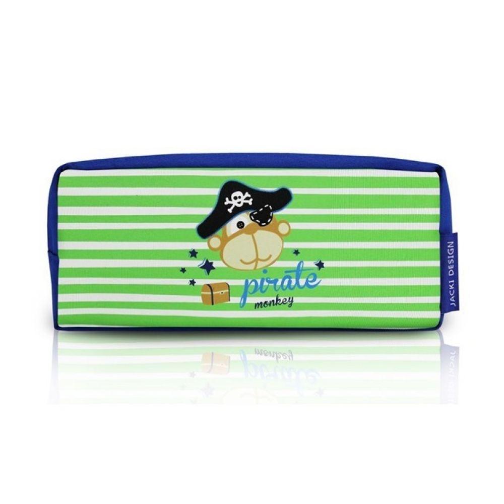 d2e8b8768 Estojo Escolar Infantil Macaco Pirata Jacki Design - Flicka Kids