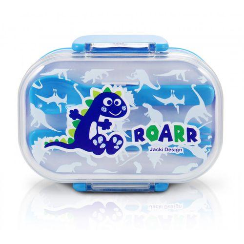 Pote-para-Lanche-Infantil-Dinossauro-Rooar-Azul-Jacki-Design