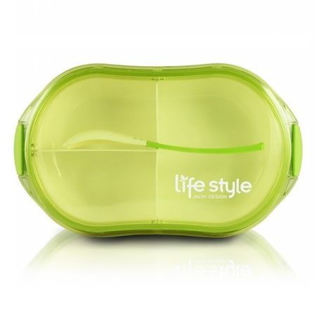 Pote-Marmita-com-3-Divisoes-Verde-Jacki-Design