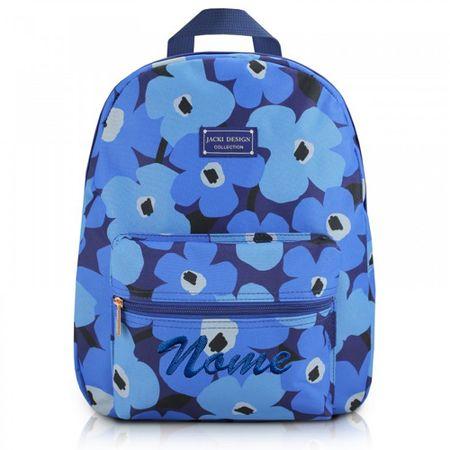 Mochila-Escolar-Papoula-Azul-Jacki-Design