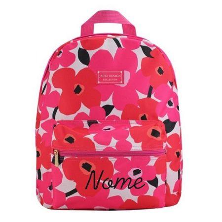 Mochila-Escolar-Papoula-Pink-Jacki-Design