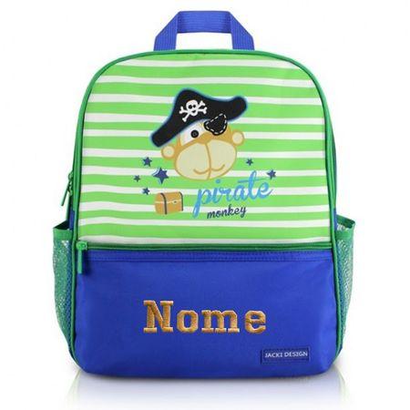 Mochila-Escolar-Infantil-Macaco-Pirata-Jacki-Design
