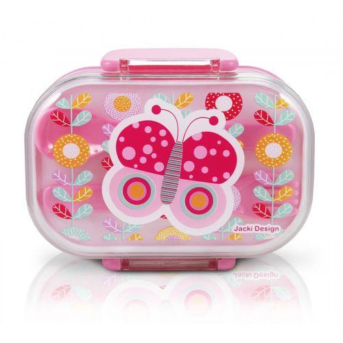 Pote-para-Lanche-Infantil--Borboleta-Rosa-Jacki-Design