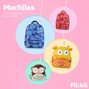 ce1c253ec Personalizados - Mochilas Infantis Personalizadas SEANITE – Flicka Kids