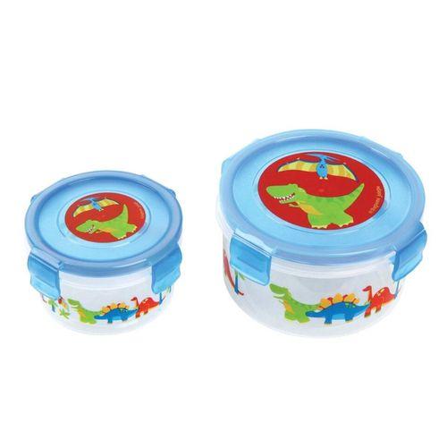 Kit-de-Potes-com-2-Potes-de-Plastico-Dino-Stephen-Joseph