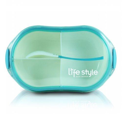 Pote-Marmita-com-3-Divisoes-Azul-Jacki-Design