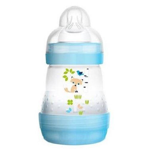 Mamadeira-MAM-First-Bottle-160ml-Boys-Azul--Anti-Colica-0-meses