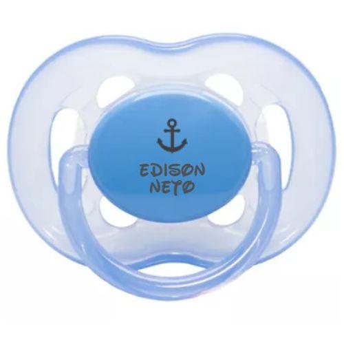 Chupeta-Avent-6-18-Meses-Azul-Edison-Neto-Pronta-Entrega---Certificado-OCP003-IFBQ-Seguranca