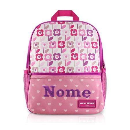 Mochila-Escolar-Infantil-Flores-Rosa-e-PInk-Jacki-Design