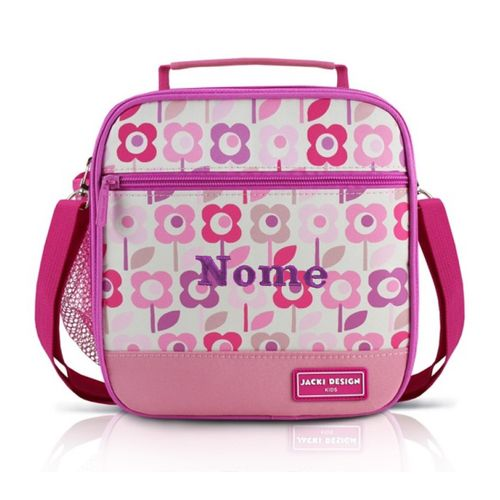 Lancheira-Termica-Infantil-Flores-Rosa-e-Pink-Jacki-Design