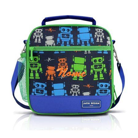 Lancheira-Termica-Infantil-Robo-Azul-Jacki-Design