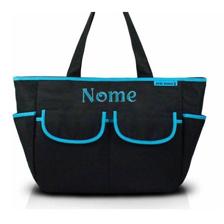 Bolsa-de-Maternidade-com-Trocador-Mama-e-Me-Preto-e-Azul-Jacki-Design