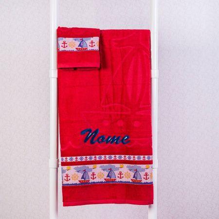 Toalha-personalizada-Marinheiro-Vermelha