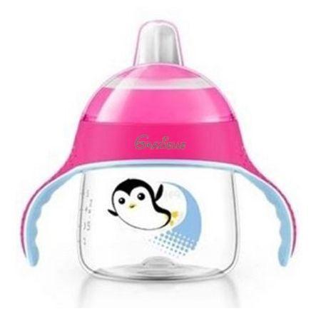 Copo-Magico-com-Bico-Avent-Pinguim-Rosa-Grazielle-200ml