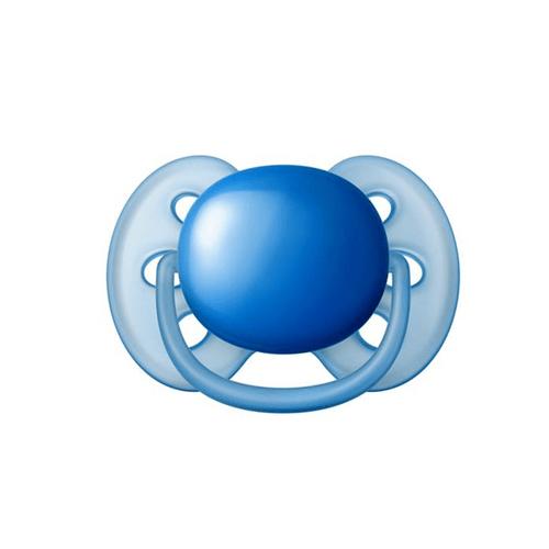 Chupeta-Avent-Ultra-Soft-S2-unitaria-Azul---Certificado-OCP003-IFBQ-Seguranca