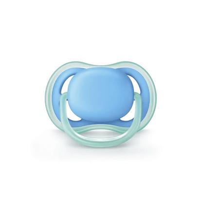 Chupeta-Avent-Ultra-Air--S2-de-6-18-meses---Lisa-Azul---Certificado-OCP003-IFBQ-Seguranca