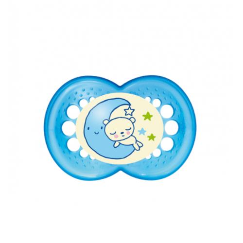 Chupeta-Night-MAM-Acima-6-meses-Azul-Urso-na-Lua---Certificado-OCP-0006-CE-PUR-IQP-Seguranca