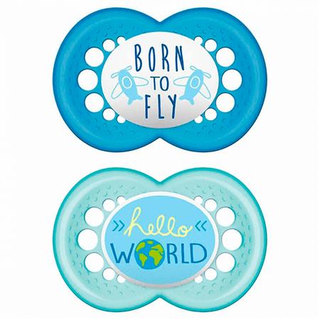 Chupeta-MAM-Dupla-Saying-Boy-Born-To-Fly--acima-de-6-meses---Certificado-OCP-0006-CE-PUR-IQP-Seguranca