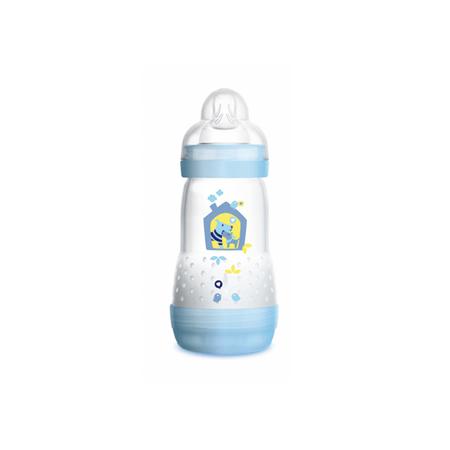 Mamadeira-MAM-First-Bottle-260ml-Boys-Azul-Anti-Colica-0-meses